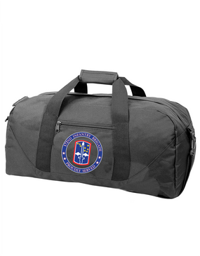 172nd Infantry Brigade Embroidered Duffel Bag-Proud