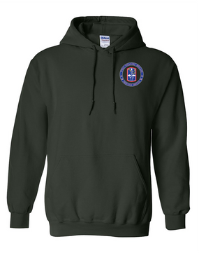 172nd Infantry Brigade Embroidered Hooded Sweatshirt-Proud