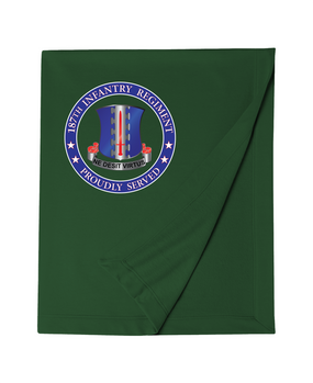 187th RCT Embroidered Dryblend Stadium Blanket-Proud
