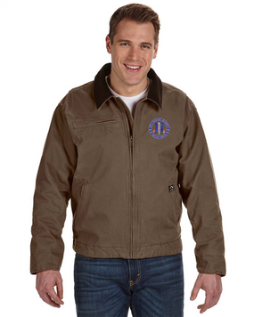 187th RCT  Embroidered DRI-DUCK Outlaw Jacket-Proud