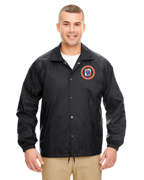 35th Signal Brigade Embroidered Windbreaker -Proud
