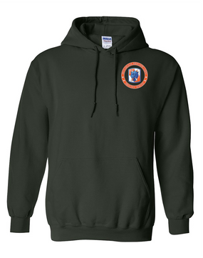 35th Signal Brigade Embroidered Hooded Sweatshirt-Proud