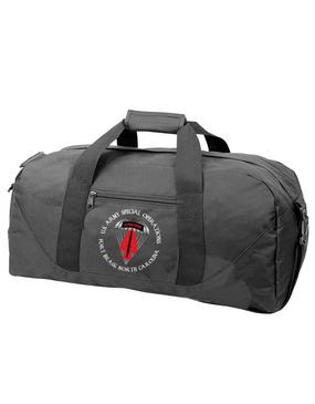 USASOC Embroidered Duffel Bag