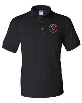 USASOC Embroidered Cotton Polo Shirt