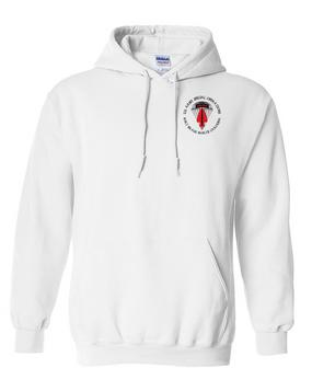 USASOC Embroidered Hooded Sweatshirt