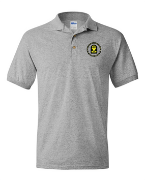 "509th ""Gingerbread""  Embroidered Cotton Polo Shirt"