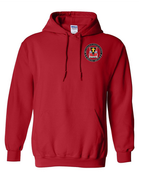 "509th ""Crest""  Embroidered Hooded Sweatshirt"