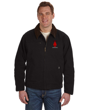 USASOC Embroidered DRI-DUCK Outlaw Jacket (L)