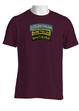 Stolen Valor Cotton T-Shirt