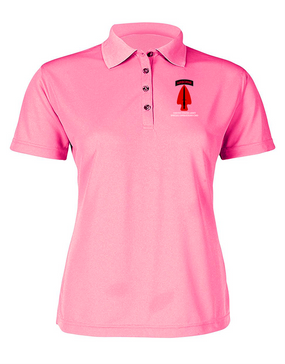 USASOC Ladies Embroidered Moisture Wick Polo Shirt (L)