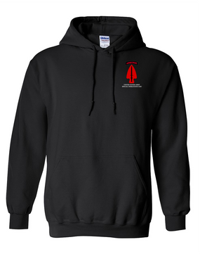 USASOC Embroidered Hooded Sweatshirt (L)