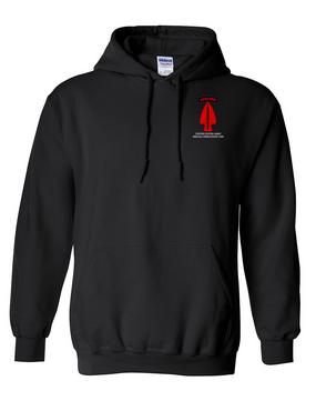USASOC Embroidered Hooded Sweatshirt (L)