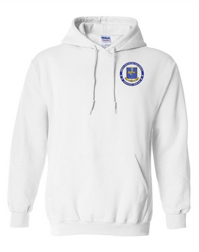 502nd Parachute Infantry Regiment Embroidered Hooded Sweatshirt-Proud