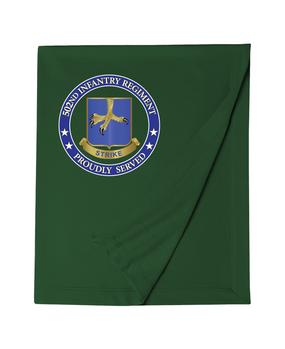 502nd Parachute Infantry Regiment Embroidered Dryblend Stadium Blanket-Proud