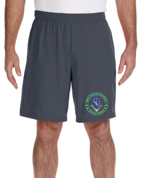 506th Parachute Infantry Regiment Embroidered Gym Shorts-Proud