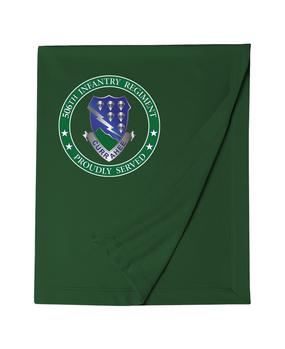 506th Parachute Infantry Regiment Embroidered Dryblend Stadium Blanket-Proud