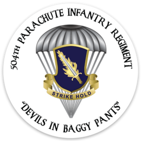 504th PIR Magnet