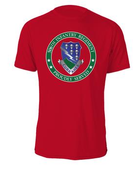 506th Parachute Infantry Regiment Cotton T-Shirt-Proud  (FF)