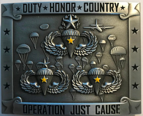 Operation Just Cause Belt Buckle