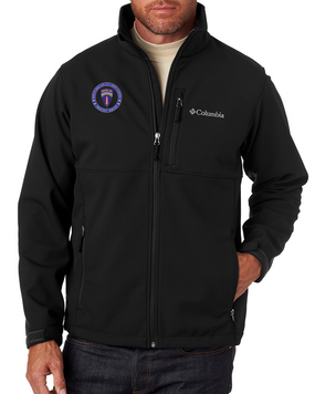 Berlin Brigade Embroidered Columbia Ascender Soft Shell Jacket -Proud