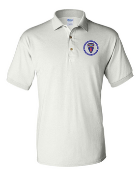 Berlin Brigade Embroidered Cotton Polo Shirt-Proud