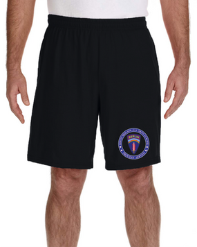 Berlin Brigade Embroidered Gym Shorts-Proud