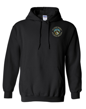 7th Cavalry Regiment Embroidered Hooded Sweatshirt-Proud