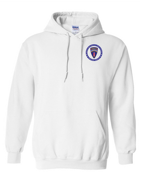 Berlin Brigade Embroidered Hooded Sweatshirt-Proud