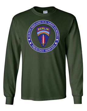 Berlin Brigade Long-Sleeve Cotton T-Shirt-Proud  (FF)