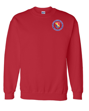 I Field Force Embroidered Sweatshirt-Proud