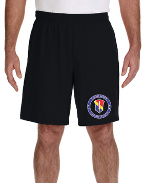 I Field Force Embroidered Gym Shorts-Proud VN