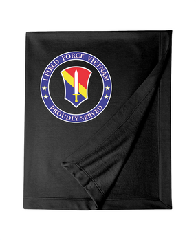 I Field Force Embroidered Dryblend Stadium Blanket-Proud
