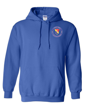I Field Force Vietnam Veteran Embroidered Hooded Sweatshirt-Proud