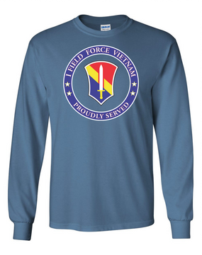 I Field Force Long-Sleeve Cotton T-Shirt-Proud (FF)