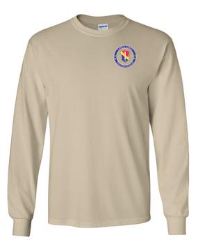 I Field Force Vietnam Veteran Long-Sleeve Cotton T-Shirt-Proud