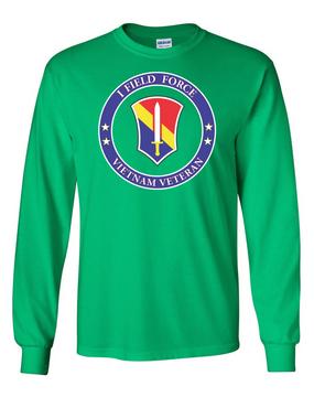 I Field Force Vietnam Veteran Long-Sleeve Cotton T-Shirt-Proud (FF)