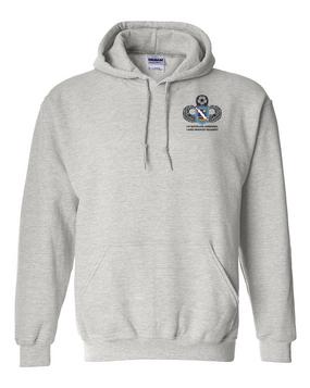 1st Battalion (Airborne) 143rd Infantry Regiment Embroidered Hooded Sweatshirt