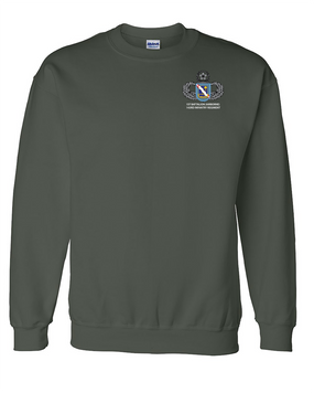 1st Battalion (Airborne) 143rd Infantry Regiment Embroidered Sweatshirt