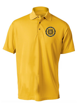 "9th Infantry Regiment ""MANCHUS""   Embroidered Moisture Wick Polo Shirt"