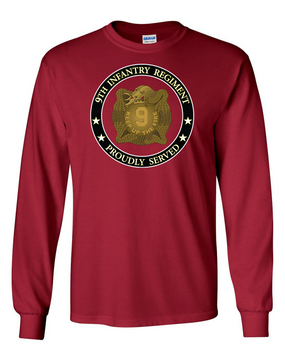 "9th Infantry Regiment ""MANCHUS""  Long-Sleeve Cotton Shirt -Proud (FF)"