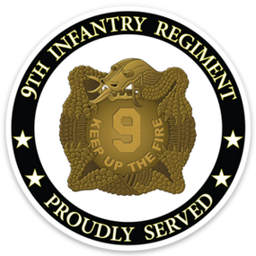 "9th Infantry Regiment ""MANCHUS"" Vinyl Cut Decal"