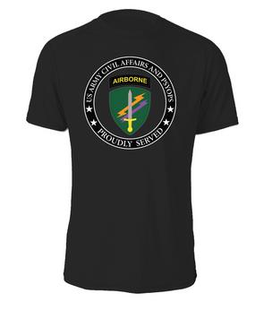 US Army Civil Affairs Cotton Shirt -Proud  (FF)