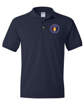 Southern European Task Force (SETAF) Embroidery Cotton Polo Shirt-Proud