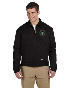 US Army Civil Affairs Embroidered Dickies 8 oz. Lined Eisenhower Jacket-Proud