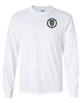 US Army Civil Affairs Long-Sleeve Cotton T-Shirt-Proud
