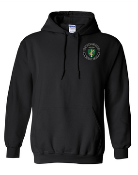 U.S. Army Civil Affairs Embroidered Hooded Sweatshirt-Proud