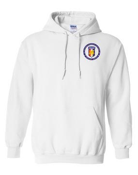 Southern European Task Force SETAF Embroidered Hooded Sweatshirt-Proud