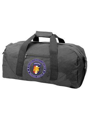 Southern European Task Force SETAF Embroidered Duffel Bag-Proud