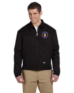 Southern European Task Force (SETAF) Embroidered Dickies 8 oz. Lined Eisenhower Jacket -Proud