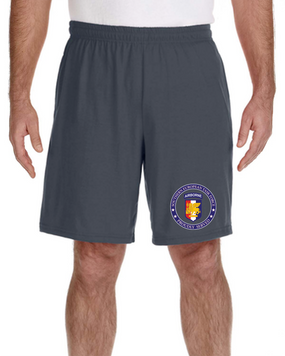 Southern European Task Force Embroidered Gym Shorts-Proud